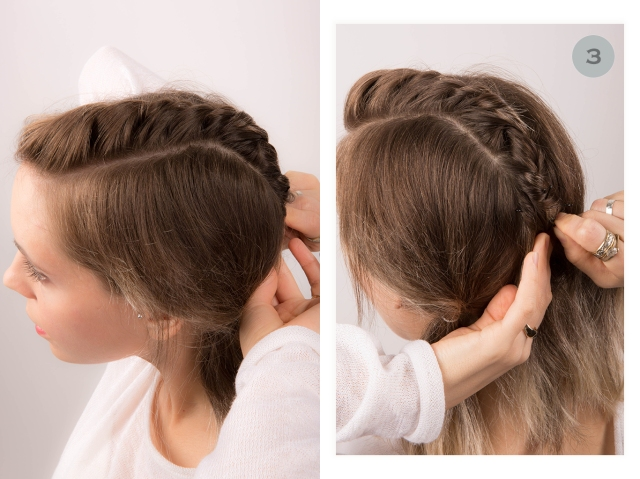 covetous creatures | 90s inspired twist hair tutorial step 3